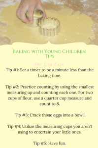 Baking with Young Children Tips
