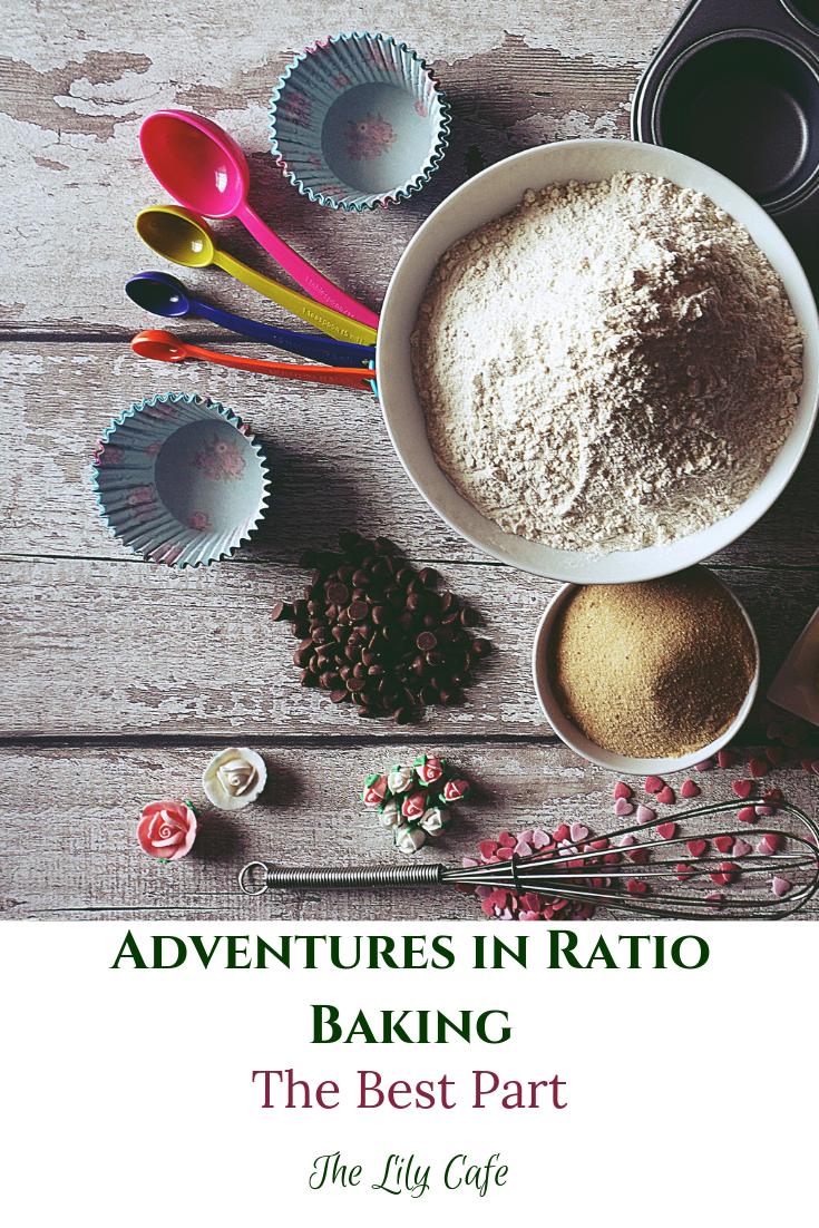 adventures in ratio baking: the best part