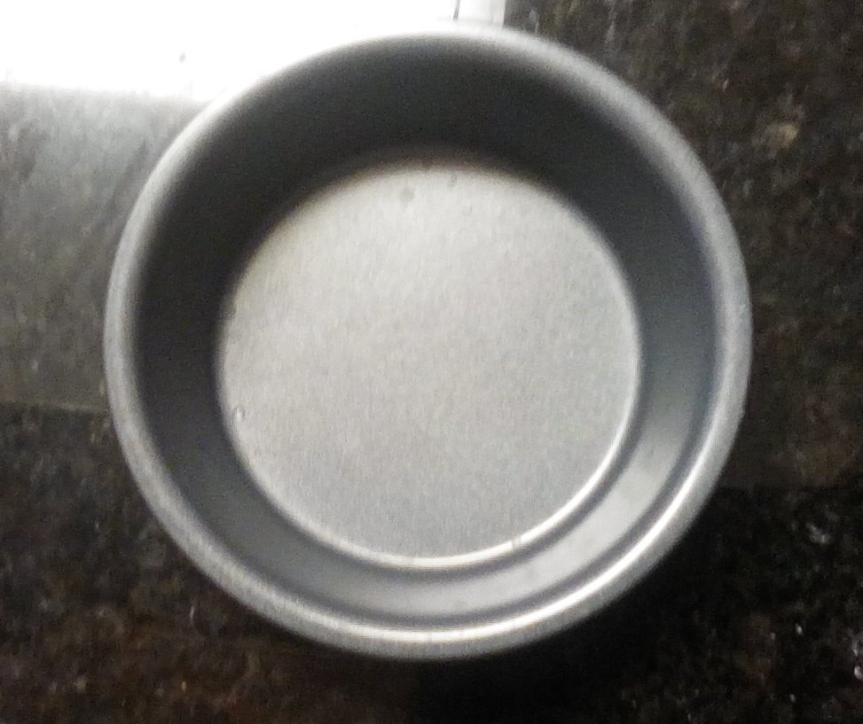 4 inch cake tin - perfect for ratio baking