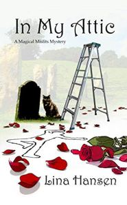 Book Review: In My Attic by Lina Hansen - a cozy mystery set in the UK featuring witches
