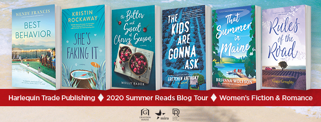 Harlequin Summer Reads Blog Tour - The Bitter and Sweet of Cherry Season by Molly Fader
