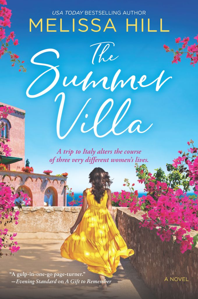 Book Blog Tour: An Excerpt of The Summer Villa by Melissa Hill - a fun women's fiction novel that takes place on the Amalfi Coast in Italy