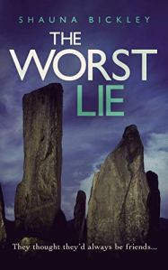 Book Review: The Worst Lie (A Lexie Wyatt Mystery, Book 2) by Shauna Bickley - a suspenseful mystery that takes place in the UK