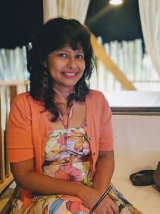 Smita Bhattacharya, author of the Darya Nankarni Cozy Mystery Series