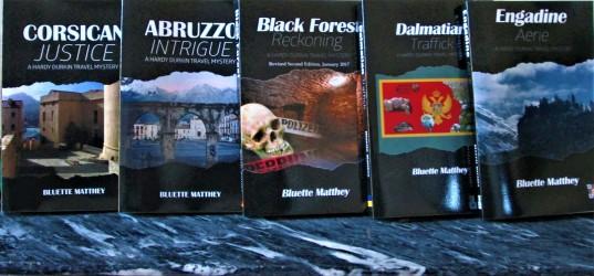 The Hardy Durkin Mystery series by Bluette Matthey