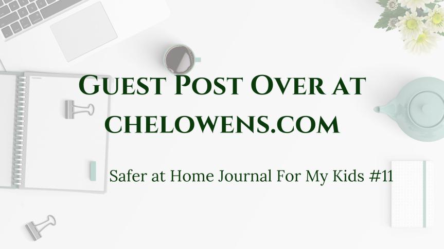 Safer at Home Order Journal#11