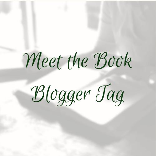 Meet the Book BloggerTag