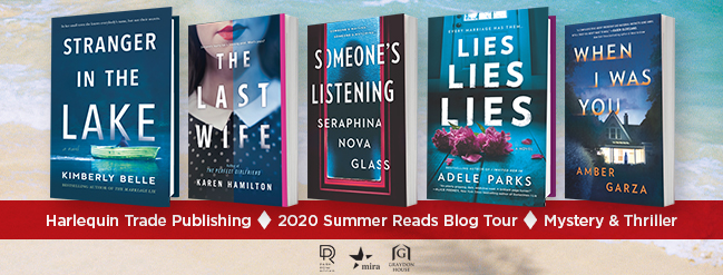 Harlequin Mystery and Thrillers Summer 2020 book blog tour: When I Was You by Amber Garza