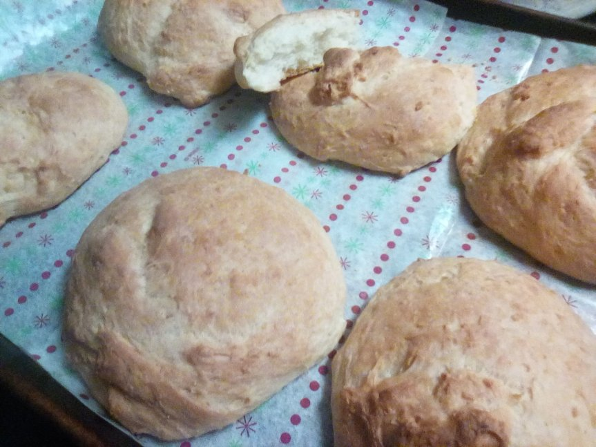 Adventures in Ratio Baking: Making Buns from Bread Dough