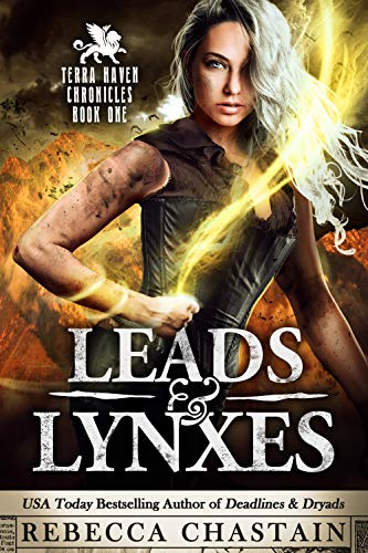 Leads & Lynxes by Rebecca Chastain, a fantasy set in Terra Haven