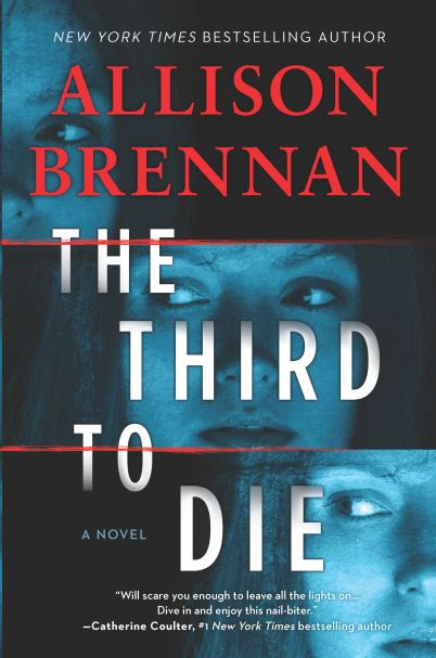 Book Blog Tour: The Third to Die by Allison Brennan