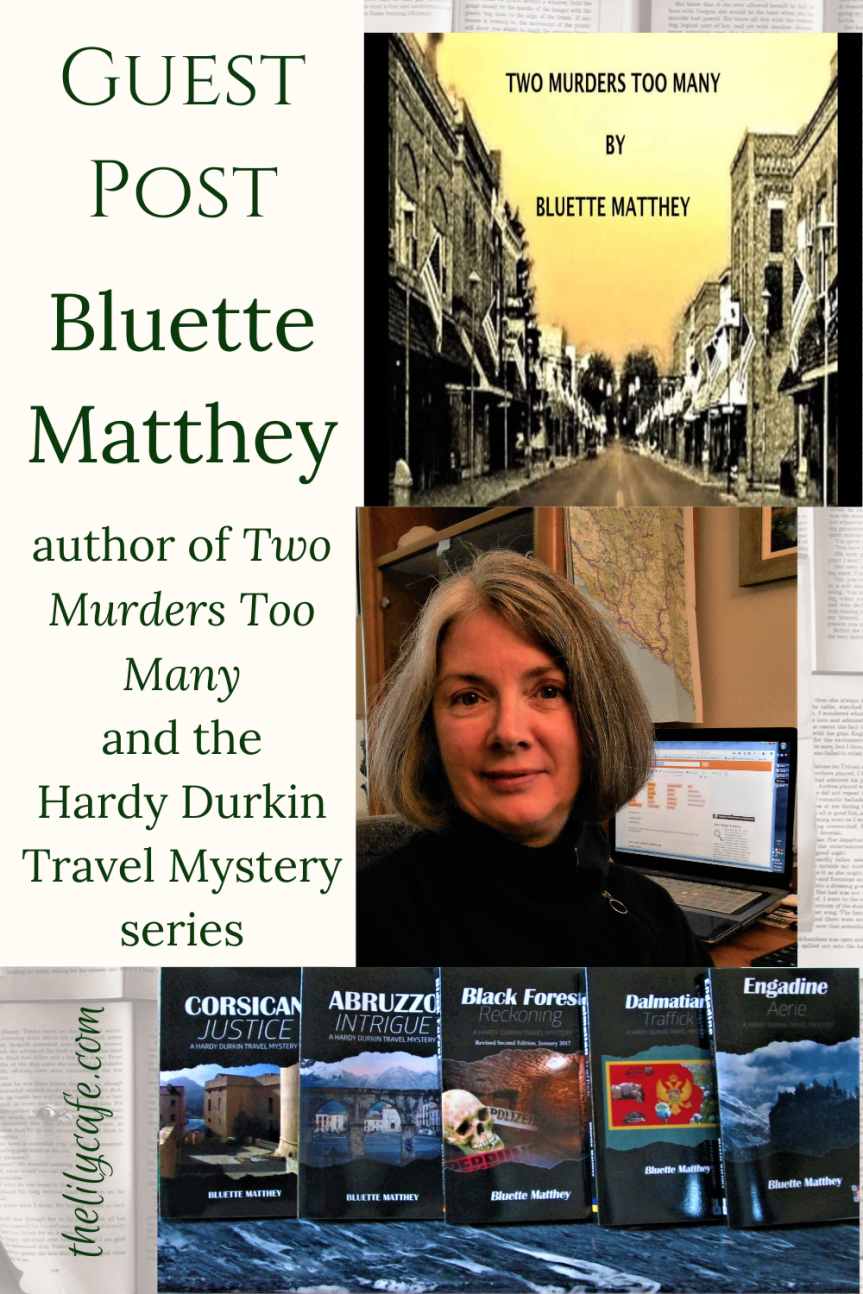 Guest Post: Two Murders Too Many by BluetteMatthey