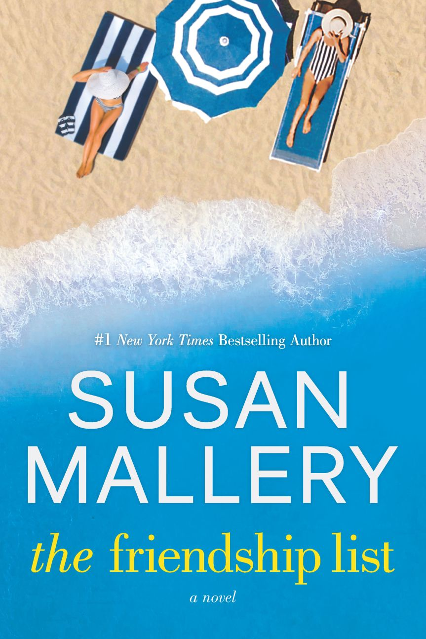 Book Blog Tour - review of The Friendship List by Susan Mallery