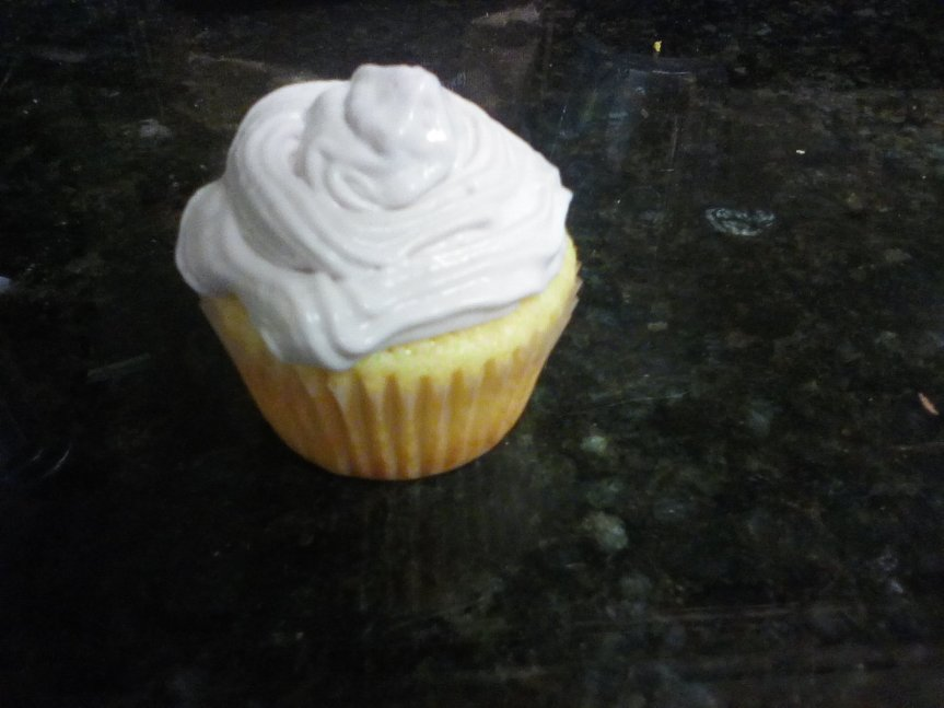 Knock You Over the Head with Lemon Cupcakes