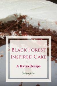 Ratio Recipe: Black Forest Inspired Cake