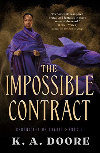 Book Review: The Impossible Contract by K. A. Doore
